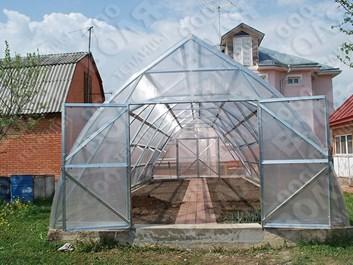 Farmářský profesionální skleník FARMER 21,0 x 4,2 - Volya LLC
