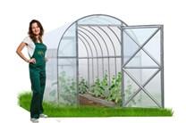 Polykarbonátový skleník Perchina-M ( 4,2 x 1,56 ) - Volya LLC