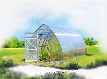 Polykarbonátový skleník Strelka 2,6 8m ( 2,6 x 8 ) m ) - Volya LLC