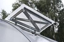 Polykarbonátový skleník Strelka3 12m ( 3 x 8 m ) - Volya LLC