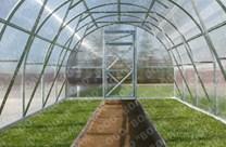 Polykarbonátový skleník TRJOŠKA 8m ( 8 x 3 m ) - Volya LLC