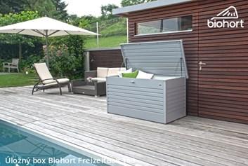 Biohort Úložný box FreizeitBox 160HIGH, tmavě šedá metalíza