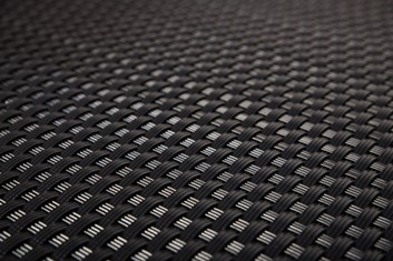 Ratan v metráži - černá, výška 110 cm