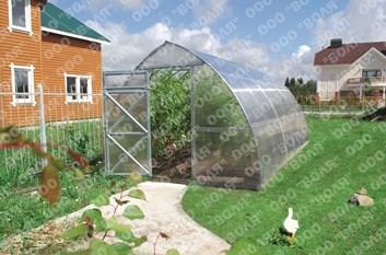 Polykarbonátový skleník Strelka3 12m ( 3 x 12 m ) - Volya LLC