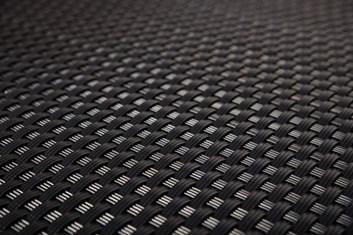 Ratan v metráži - černá, výška 100 cm