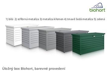 Biohort Úložný box FreizeitBox 160HIGH, tmavě zelená