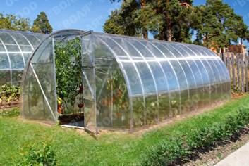 Polykarbonátový skleník 2DUM 12m ( 3 x 12 m ) - Volya LLC