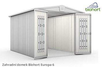 Biohort Zahradní domek EUROPA 6, tmavě šedá metalíza