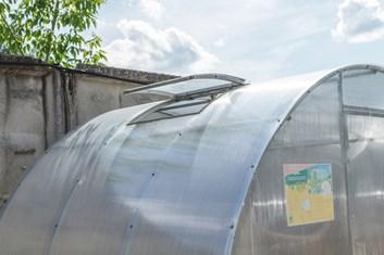 Přídavné větrací okno pro skleník ALFA 680 mm - Volya LLC