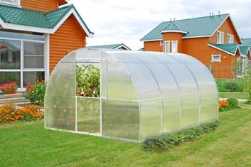 Polykarbonátový skleník ALFA 10m ( 3 x 10 m )- Volya LLC
