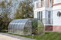 Polykarbonátový skleník TRJOŠKA 12m ( 12 x 3 m ) - Volya LLC