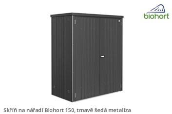 Biohort Skříň na nářadí 150, tmavě šedá metalíza