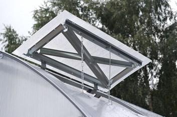 Přídavné větrací okno pro skleník STRELKA - Volya LLC