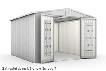 Biohort Zahradní domek EUROPA 7, tmavě zelená