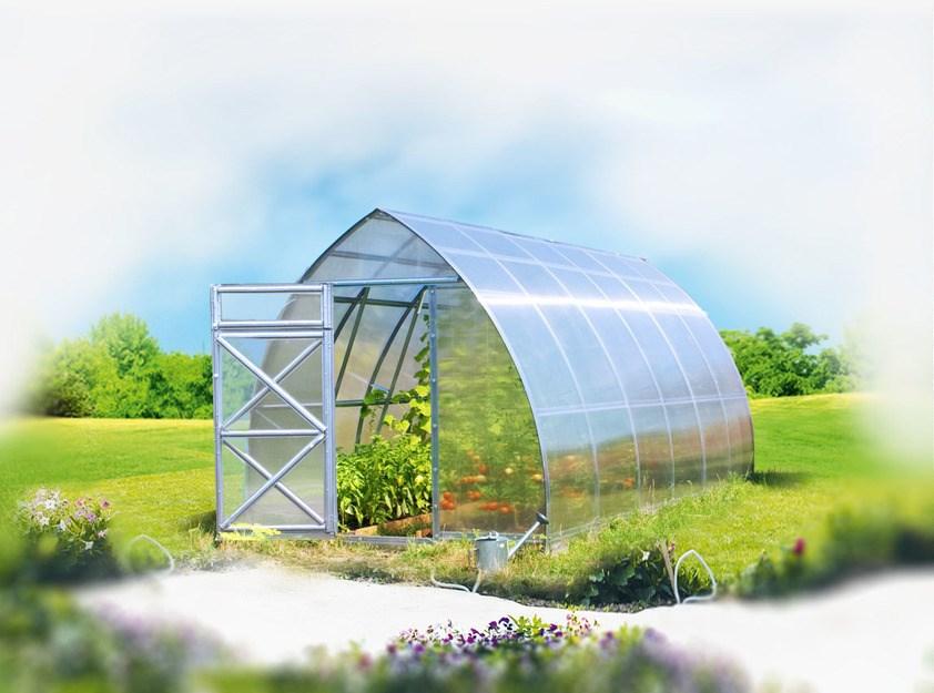 Polykarbonátový skleník Strelka 2,6 ( 2 x 2,6 m ) - Volya LLC