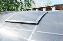 Přídavné větrací okno pro skleník ALFA 510 mm - Volya LLC