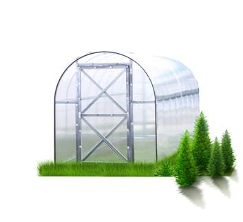 Polykarbonátový skleník Perchina-M ( 1,56 x 4,2 ) - Volya LLC