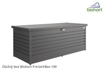 Biohort Úložný box FreizeitBox 180, tmavě šedá metalíza