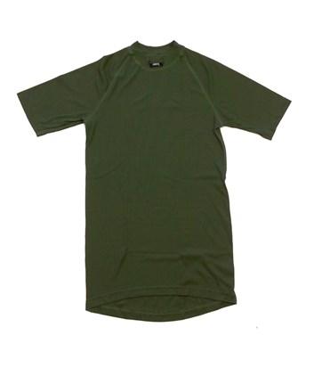 NBX light funkční tričko pánské khaki - krátký rukáv