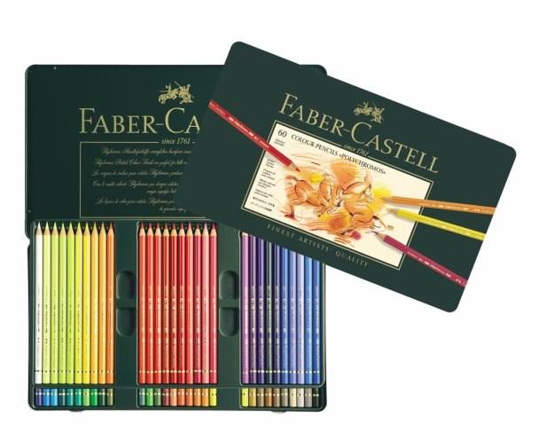 Polychromos Faber Castell, 60 kusů