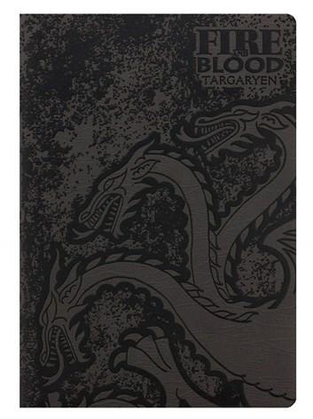 Zápisník A5, SR72435, motiv Game of thrones - Stark/Targaryen, 1 ks