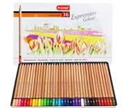 Bruynzeel, 7705M36, Expression colour set, sada pastelek, 36 ks
