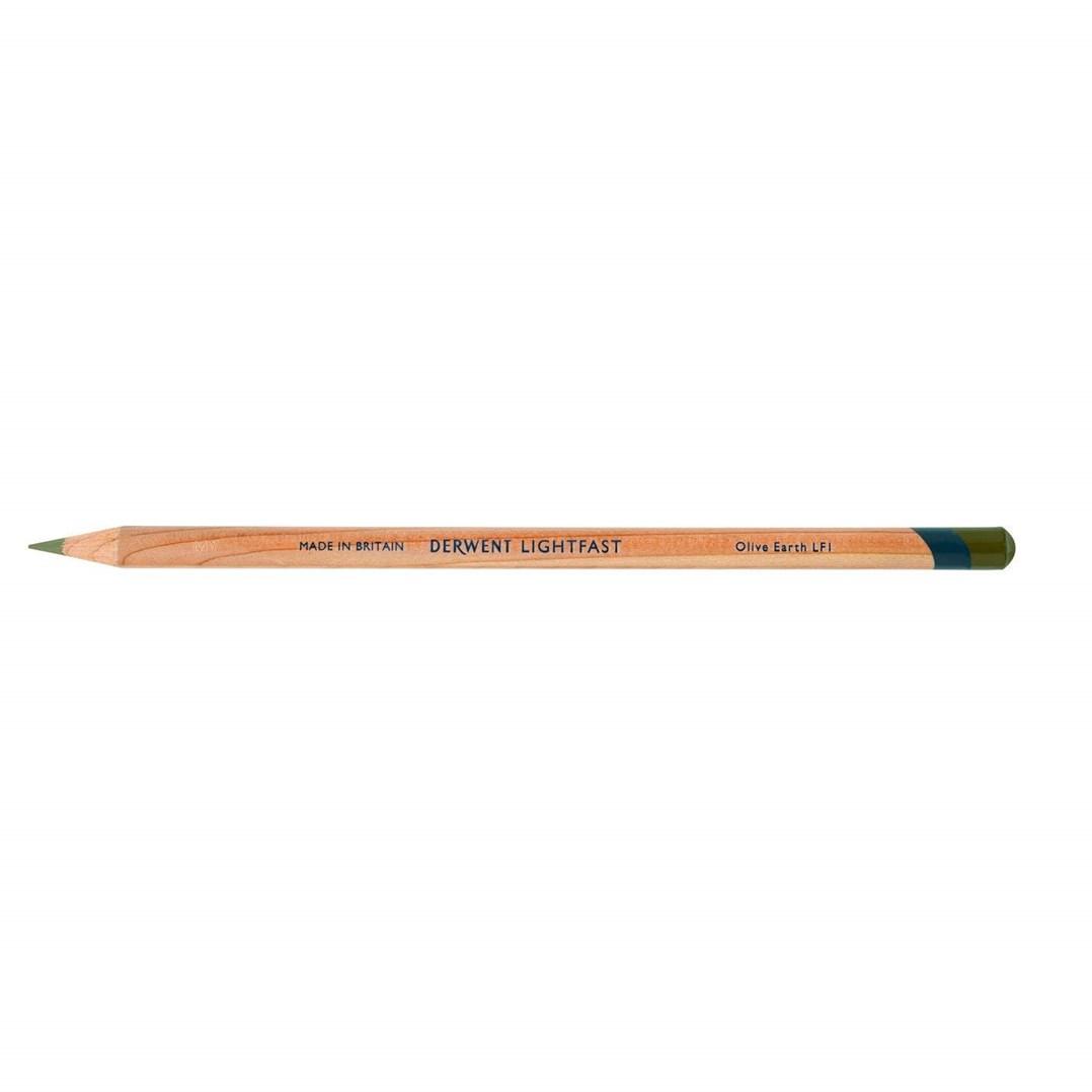 Derwent, 2302692, Lightfast, umělecké pastelky, kusové, 1 ks, Olive Earth