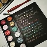 Coliro, M740, Pearl colors, metalické, perleťové akvarelové barvy, 6 odstínů, Pharao