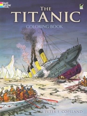 Omalovánka pro dospělé, The Titanic