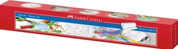 Omalovánky v roli, samolepící, Faber-Castell