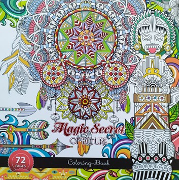Ditipo, 7222004, antistresové omalovánky, Magic Secret of Picture