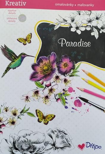 Ditipo, 7005009, Třpytivé malování, Paradise