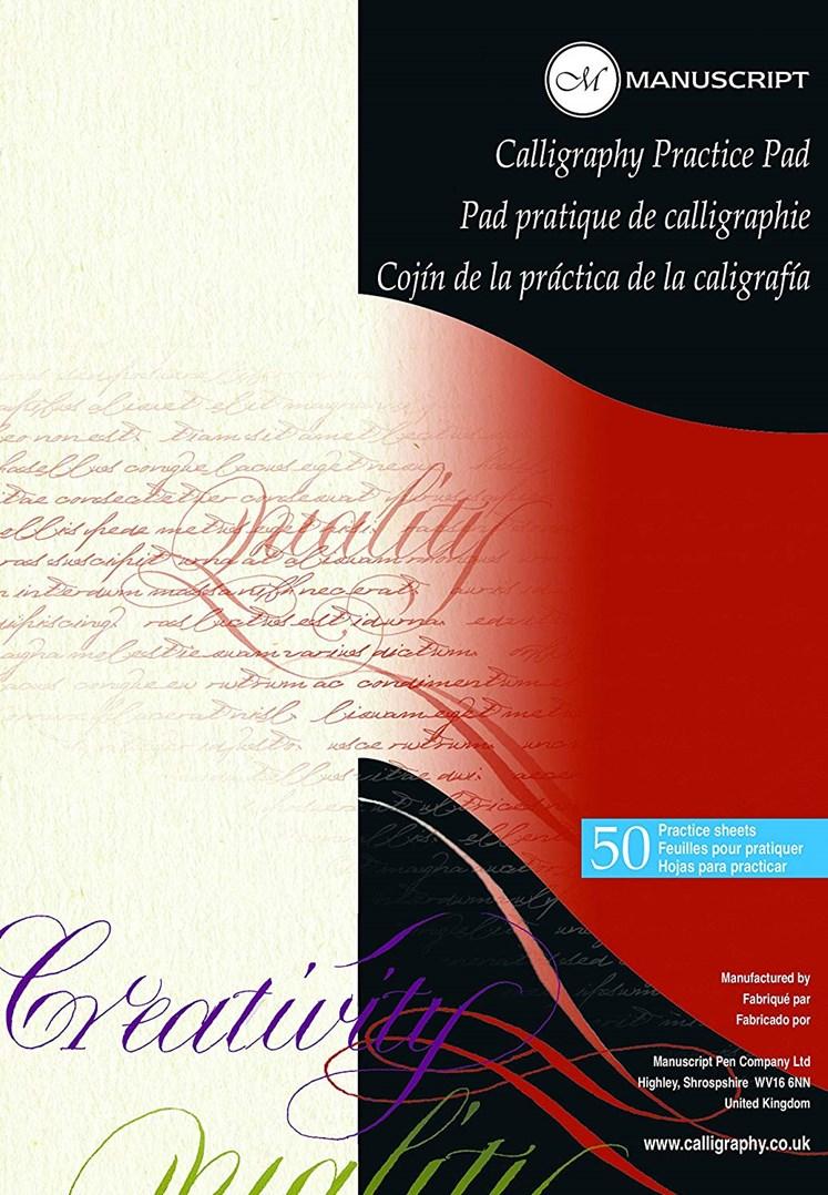 Manuscript, MC302, kaligrafický blok pro nácvik ručního psaní, 50 listů