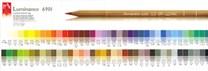 Caran d'Ache, 6901, Luminance, umělecké pastelky nejvyšší kvality, 1 ks, white 001