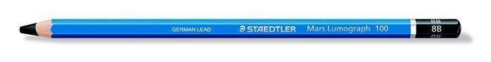 Staedtler, 100-8B, Mars Lumograph, grafitová tužka, 1 ks, 8B
