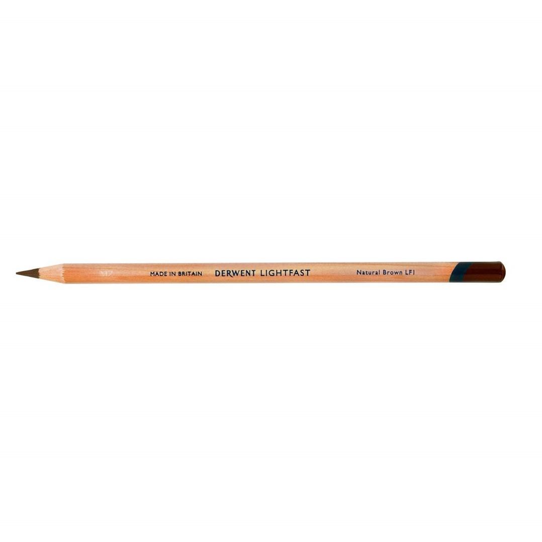 Derwent, 2302704, Lightfast, umělecké pastelky, kusové, 1 ks, Natural Brown