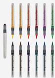 Karin, 27 C1, brushmarker pro, sada štětečkových popisovačů, 12 ks, basic colours 11+1