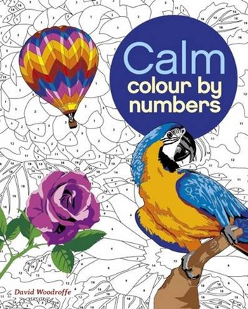 Calm colour by numbers, David Woodroffe