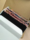 Crayola, 68-1072, Color escapes, umělecké pastelky, 72 ks