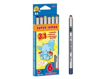 MFP, 6300336, Super Jumbo, sada pastelek 3v1, 6 ks