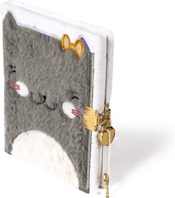 Avenue Mandarine, CO196, plyšový deník, kočička