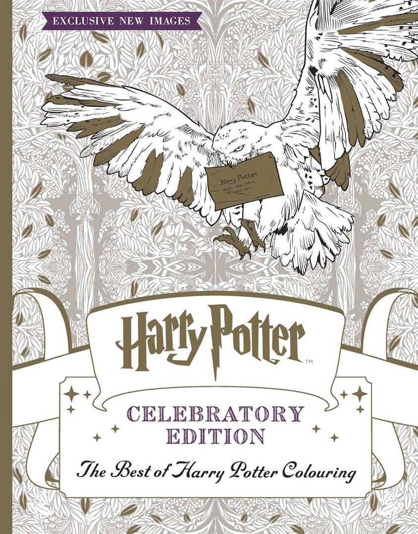 Omalovánky, které žádnému fanouškovi nesmí chybět! Harry Potter, Celebratory edition, The best of Harry Potter, Warner Brothers