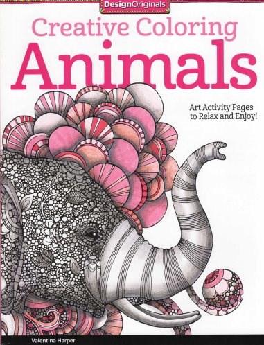 Omalovánka pro dospělé, Animals