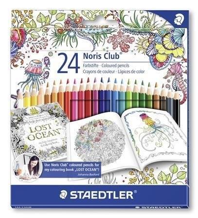 Pastelky Noris Colour, Johanna Basford limitovaná edice, šestihranná