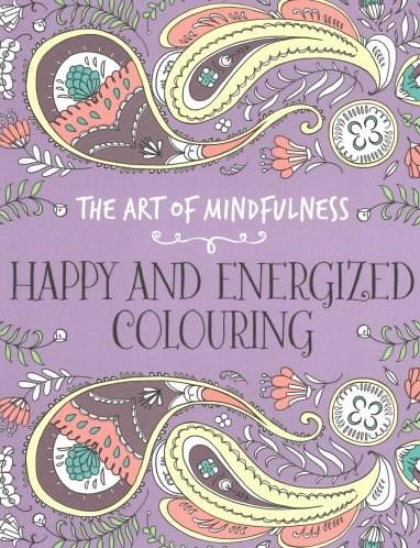 Omalovánka pro dospělé, Happy and energized colouring