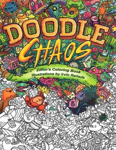 Omalovánky pro dospělé, doodle, Doodle chaos