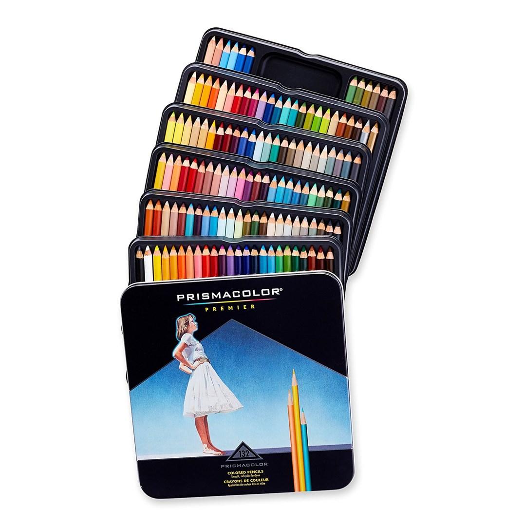 Umělecké pastelky nejvyšší kvality. Prismacolor si zamilujete po prvním čmárnutí.