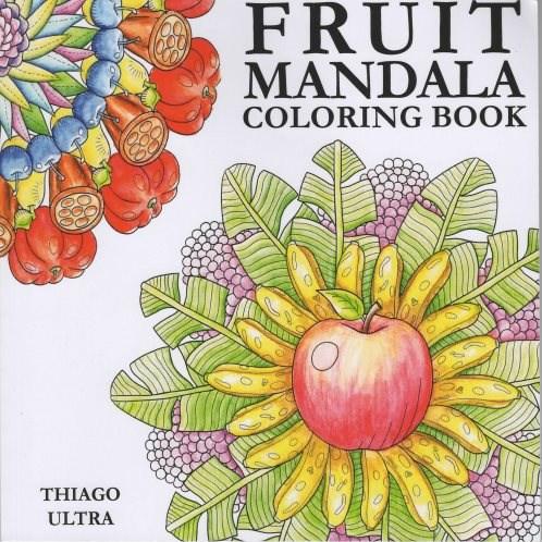 Omalovánka pro dospělé, Fruit Mandala