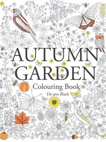 Omalovánka pro dospělé, Autumn garden