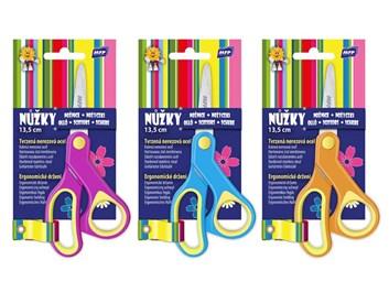 MFP, 5010104, dětské nůžky 13 cm, mix barev, 1 ks